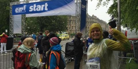 Edinburgh Marathonstart