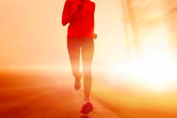 Når løbere vil tabe sig