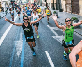 valencia marathon_løberne