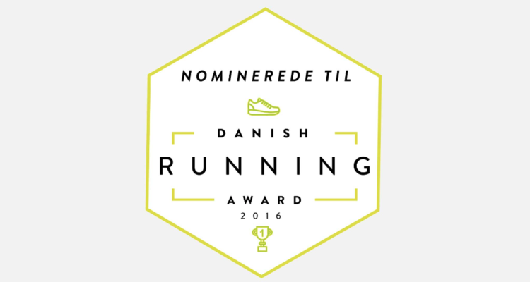 Shortliste til Danish Running Award