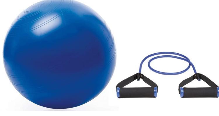 Styrketræning med bold og elastik - Løberne.dk