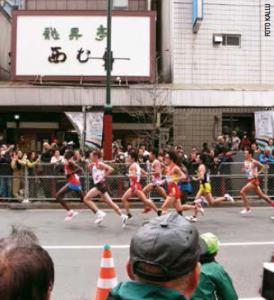 Tokyo marathon_løberne