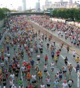 chicago marathon_løberne