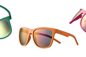 Polaroid Twist Solbriller er fleksible, urbane solbriller til løbeturen.